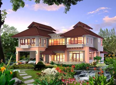 Design Homeplan : Tropical 301