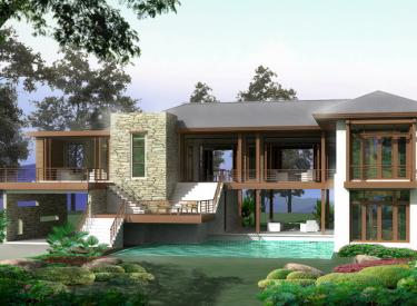 Design Homeplan : Tropical Modern 401