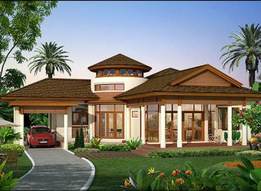 Design Homeplan : Tropical 105