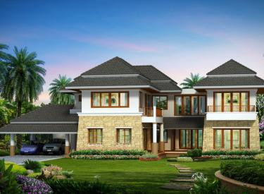 Design Homeplan : Tropical 304