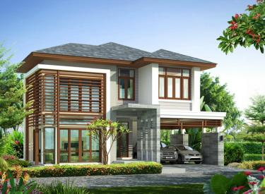 Design Homeplan : Tropical Modern 201