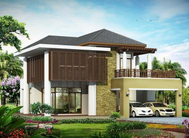 Design Homeplan : Tropical Modern 202
