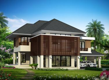 Design Homeplan : Tropical Modern 301