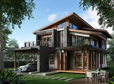 Design Homeplan : Tropical Modern 302