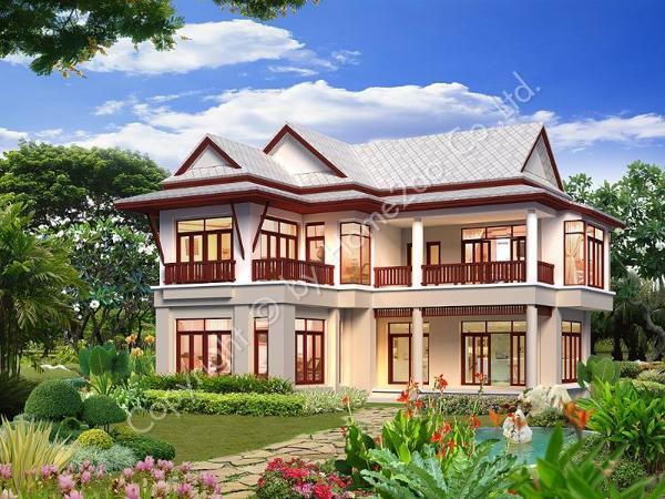 design homeplan thai resort 201 - Thai Home Design
